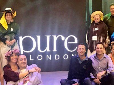 Las artesanas de Moda Adlib acaparan la atención de medios y profesionales en la feria de moda británica PURE London