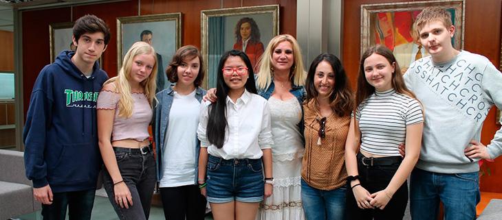 Alumnos de Instituto Nuestra Señora de la Consolación